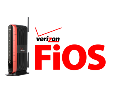 FIOS Router Label