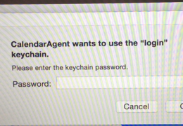 Mac Keychain Password?