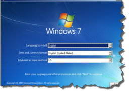 Windows7 Warning