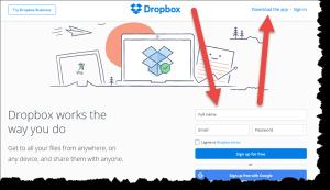 dropbox-signup-screenshot