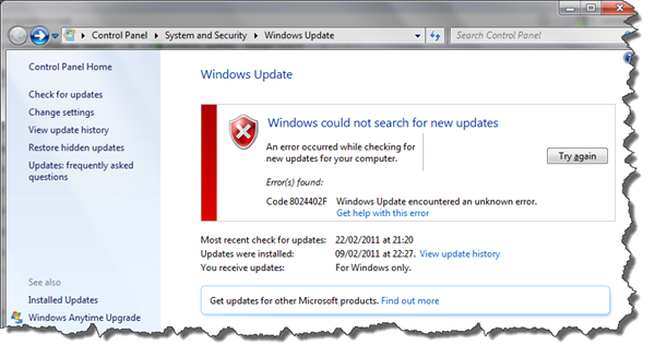 Windows Update Won't - Practical Help for Your Digital Life®