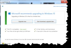 Windows 10 Upgrade – Now?