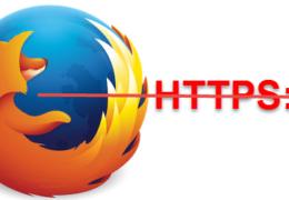 Firefox & HTTPS