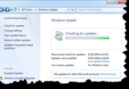 New Windows Won't Update