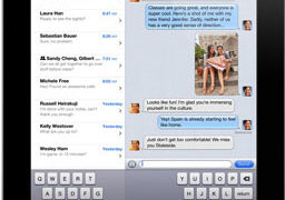 iMessage on iPad