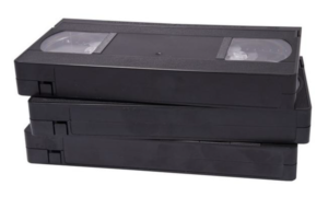 Old VHS tape recycle