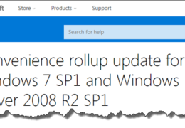 Win7 Update Rollup