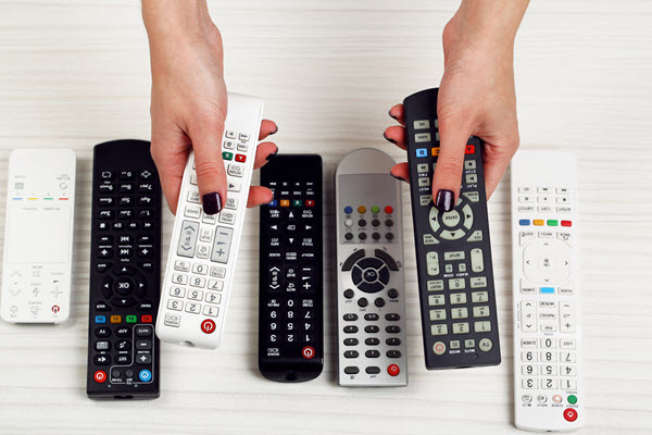many-universal-remotes-image-from-shutterstock