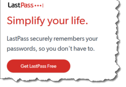 LastPass Quirks
