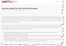 LastPass Worries