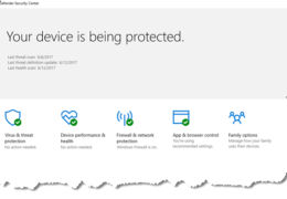 New Windows Defender