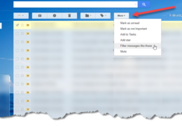Gmail Auto-file