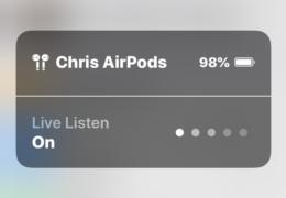 Airpod Listen In